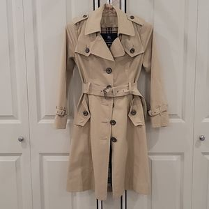 Authentic Burberry blue label trench coat